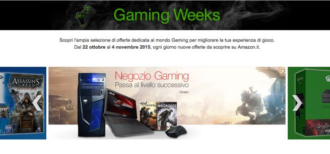 Amazon Gaming Week 2015