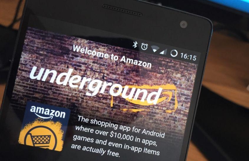 Amazon Underground smartphone