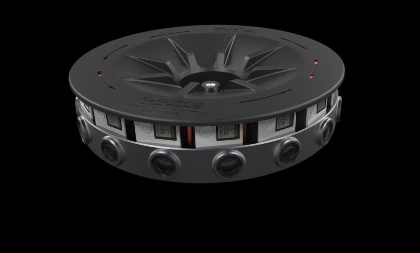 GoPro array videocamere 360 gradi e 3D