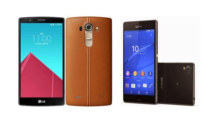 LG G4 vs Sony Xperia Z3