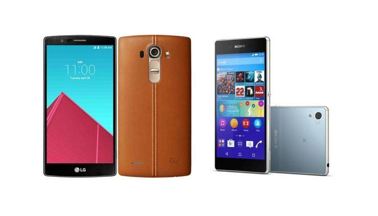 LG G4 vs Sony Xperia Z4