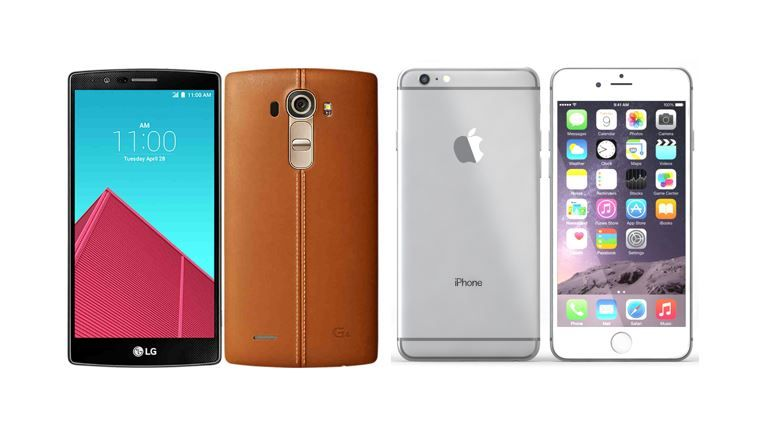 LG G4 vs iPhone 6 Plus
