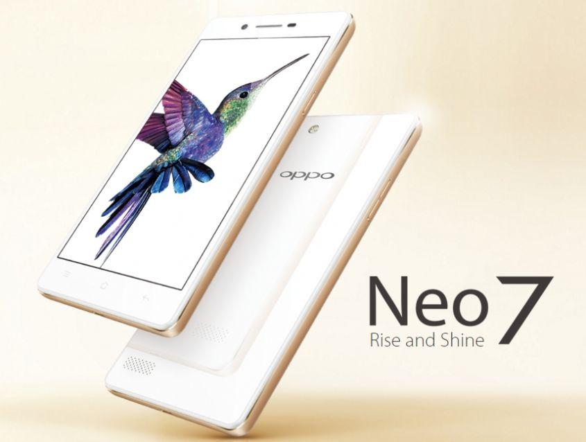 Oppo Neo 7 colori