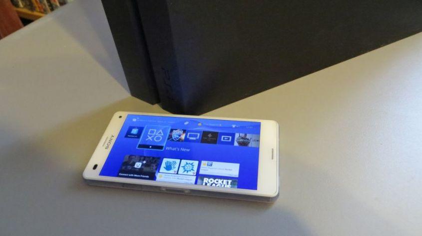 smartphone console