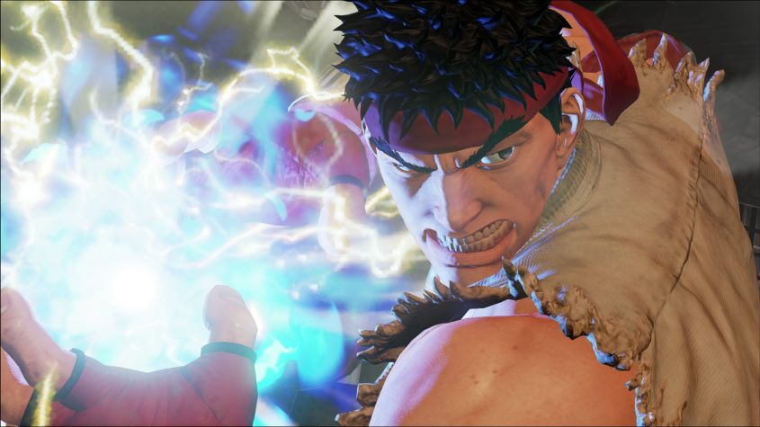street fighter v ryu hadoken