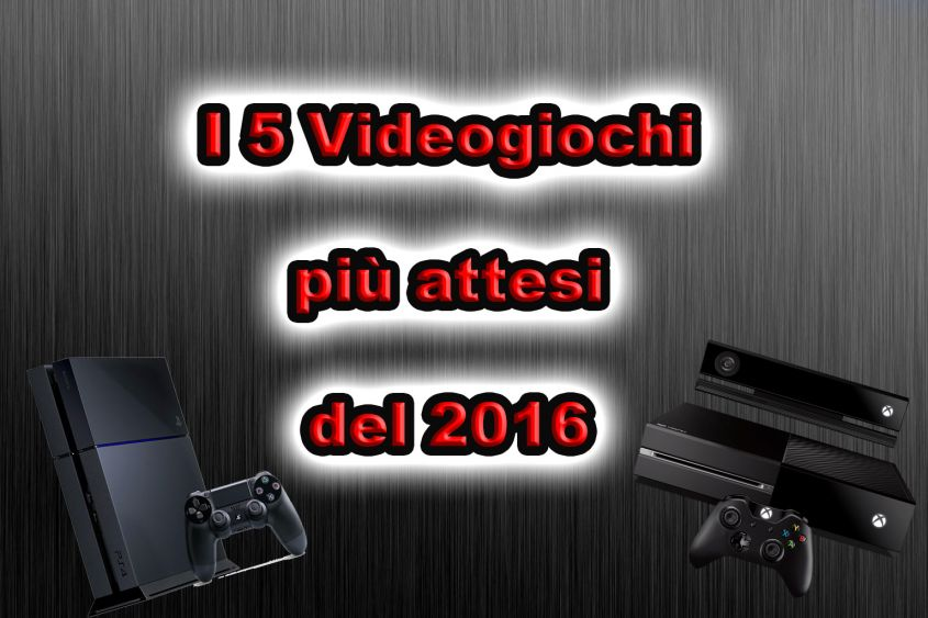 videogiochi più attesi