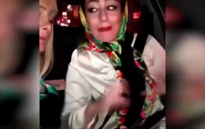 Un video selfie da schianto