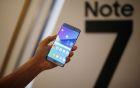 Samsung Galaxy Note 7, vendite sospese in tutto il mondo