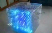 Cubo con immagini 3D