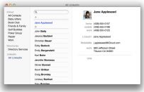 Come unire i contatti di OS X a un altro account