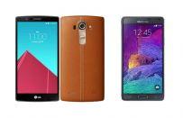 LG G4 vs Samsung Galaxy Note 4: confronto su scheda tecnica e prezzo