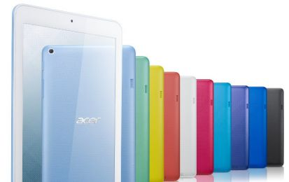 Acer Iconia One 8: prezzo e scheda del tablet low cost del CES 2016