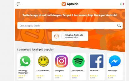 Aptoide download gratis per iOS, iPhone e PC