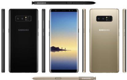 Samsung Galaxy Note 8: prezzo, scheda tecnica e uscita e le foto rubate