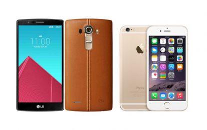 LG G4 vs iPhone 6: confronto e paragone, qual è il migliore?
