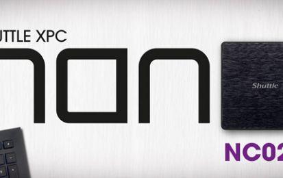 Shuttle XPC nano NC02U Mini PC, la nostra recensione