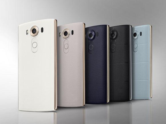 LG V10 stile