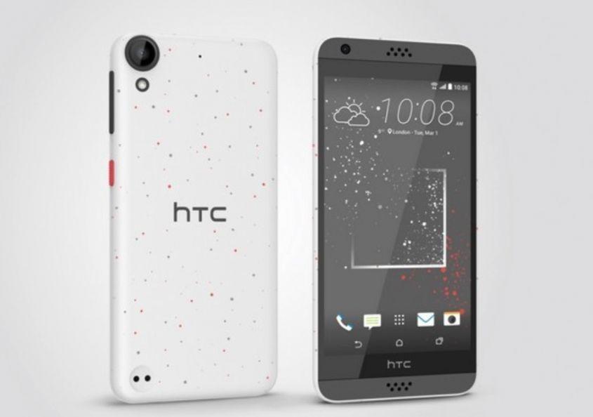 HTC Desire fronte e retro