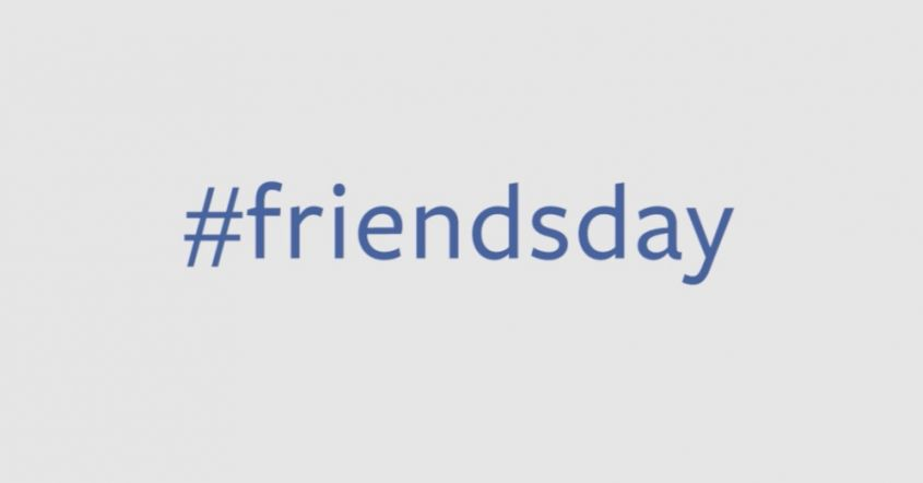 Hashtag friendsday