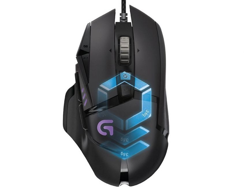 Logitech G502 Proteus Spectrum Mouse