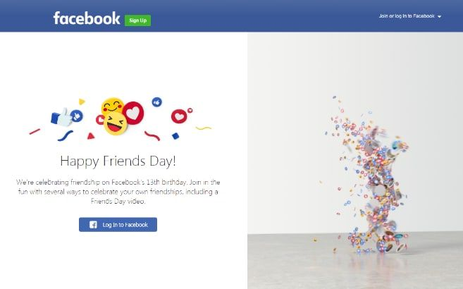 Video Friends Day Facebook