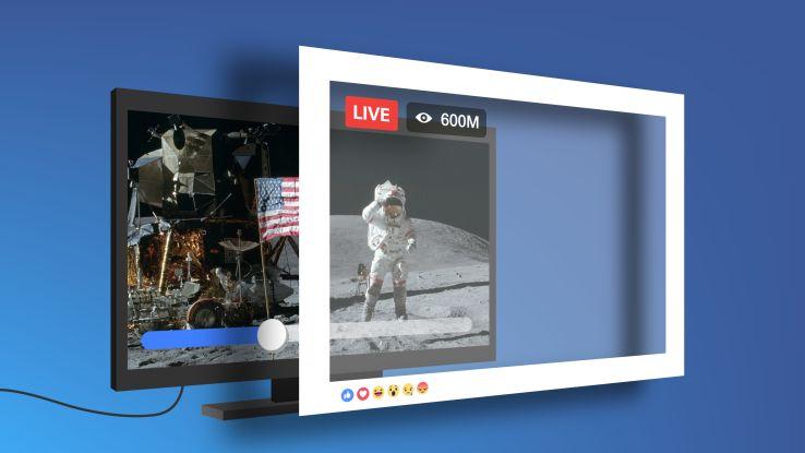 facebook live video diretta