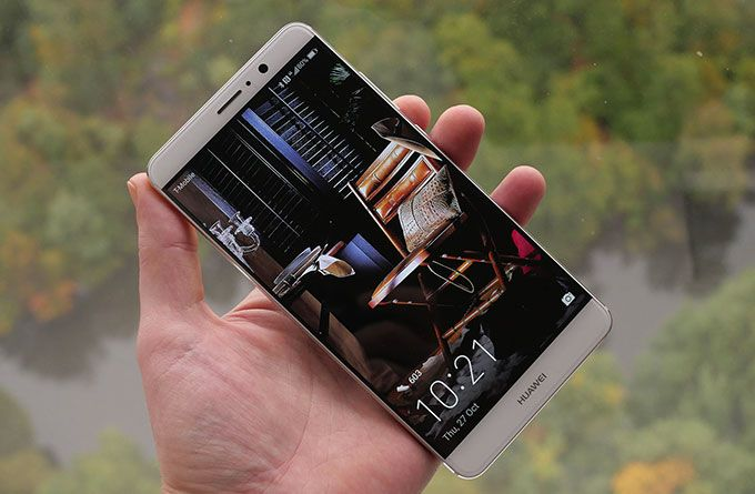 huawei mate 9 front face