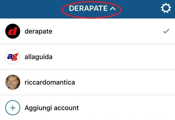instragram multi account