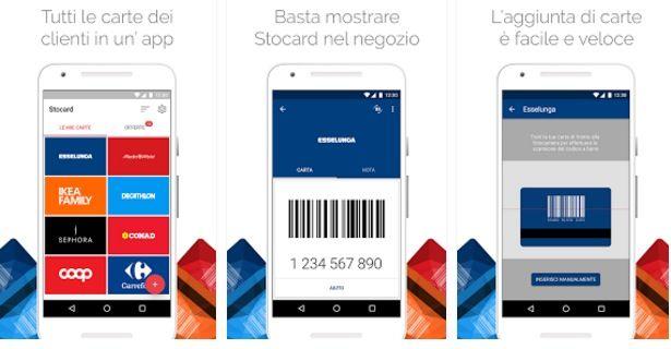 stocard app per fare la spesa