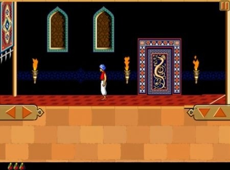 Prince of Persia Retro - versione iPad - trappole
