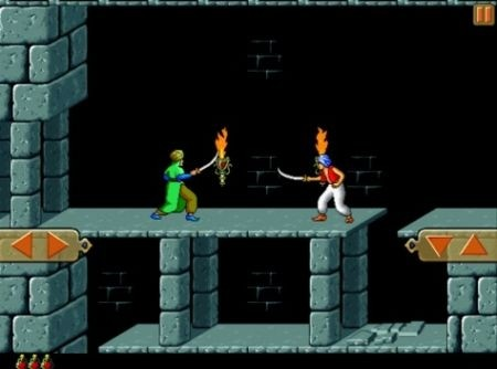 Prince of Persia Retro - versione iPad - combattimenti
