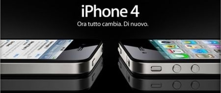 iPhone 4 con 3 Italia