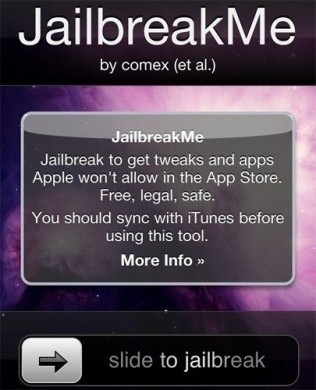 iPhone 4 jailbreak me