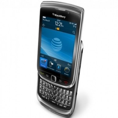 Blackberry Torch 9800 aperto
