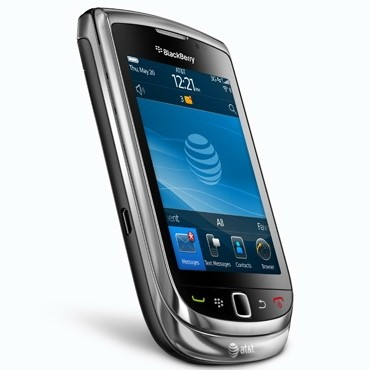 Blackberry Torch 9800 chiuso
