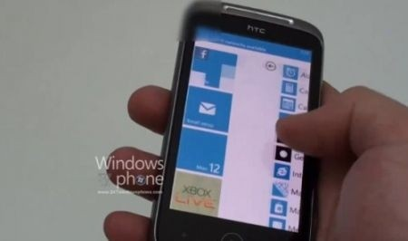 HTC Shubert con Windows Phone 7, video!