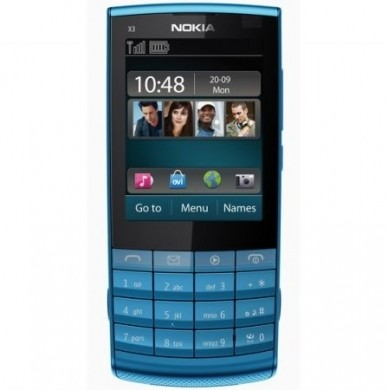 Nokia X3-02 Touch and Type blu