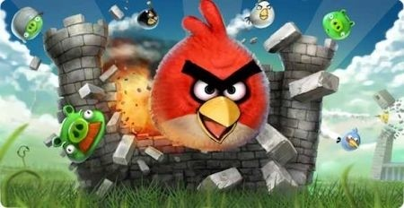 Angry Bird per Android spot