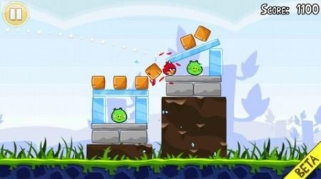 Angry Bird per Android gameplay