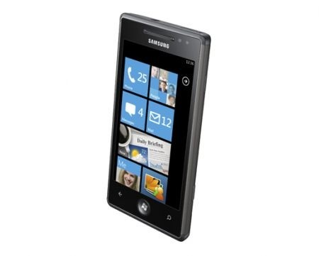 Samsung Omnia 7 Windows Phone 7 touch