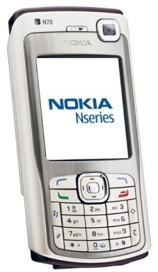 Nokia n70 silver