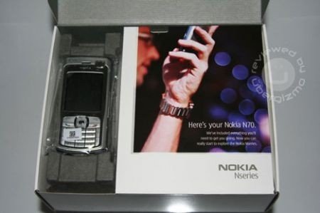 Nokia n70 scatola