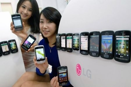 Lg Optimus One record