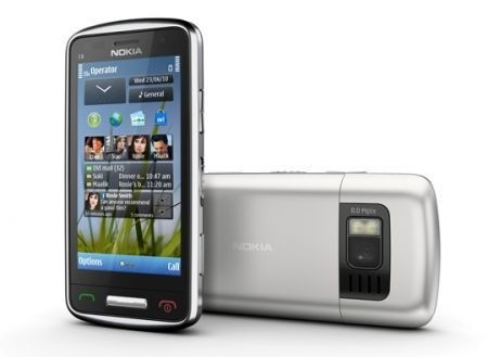 Nokia C6-01 silver