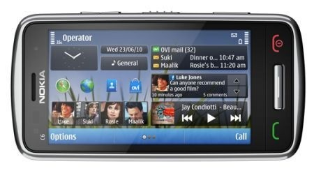 Nokia C6-01 musica