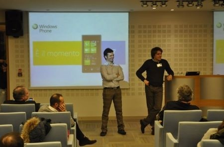 Windows Phone 7 staffetta