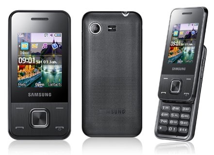 Samsung E2330 slide