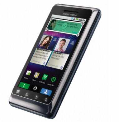 Motorola Milestone 2 Touch