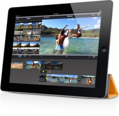 iMovie per iPad 2 editing