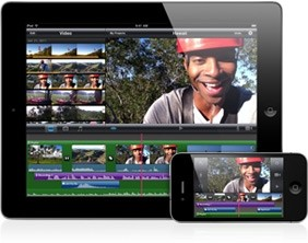 iMovie per iPad 2 youtube